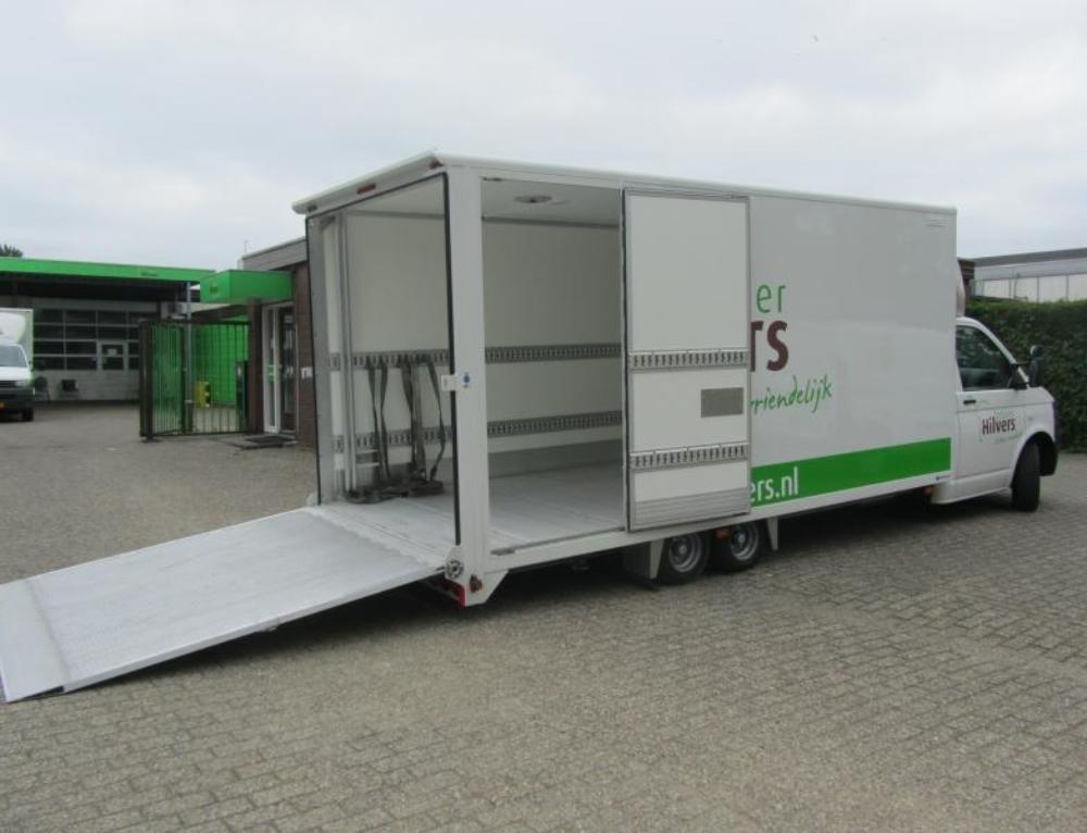 Levering nieuwe serie van 3 FGS Roll-in en Roll-out Lowliner voertuigen voor Bakker Hilvers